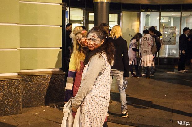 Люди в городе: Хеллоуин вПетербурге. Изображение № 6.