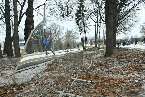 Бегущий на лезвиях: Первые посетители катка в парке Горького. Изображение № 14.