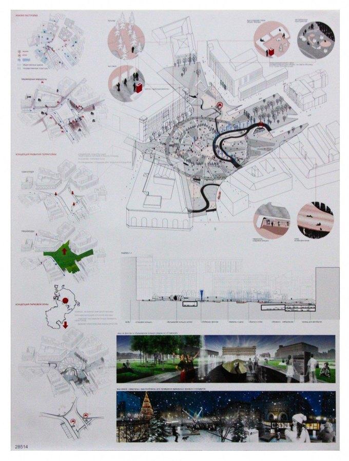 Началось голосование за эскиз фонтана наЛубянской площади. Изображение № 3.
