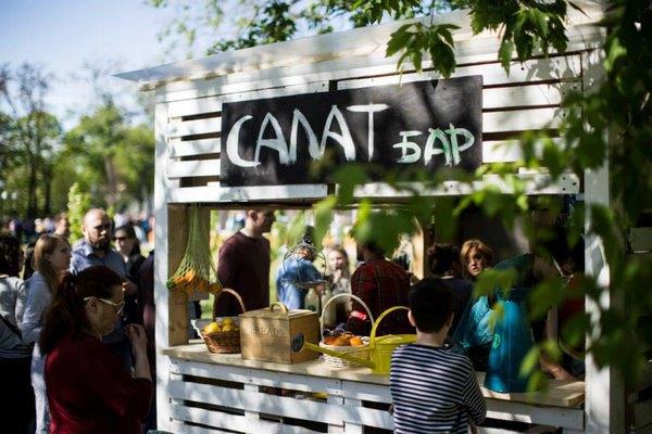 Салат-бар Dress Your Salad впарке Горького будет работать каждые выходные. Изображение № 1.