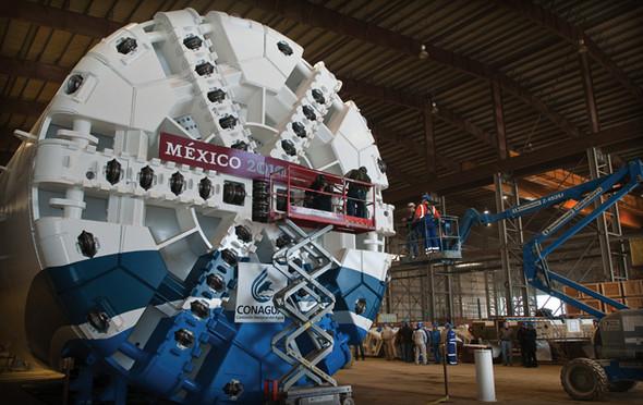 Московское метро будет копать американский робот. Изображение № 3.