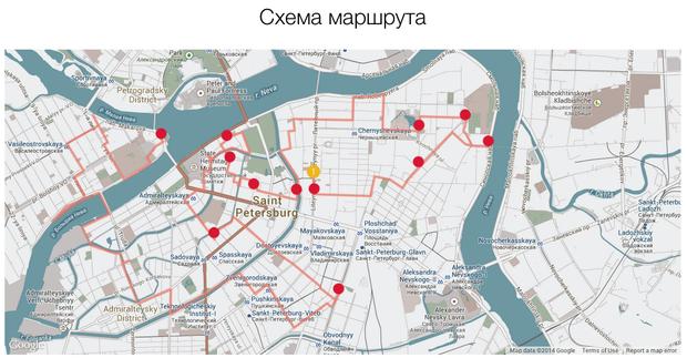 В Петербурге разработали однодневный веломаршрут поцентру. Изображение № 1.