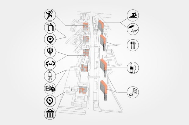 Неиспользуемые помещения Нового Арбата можно наполнить общественными функциями. Изображение № 37.