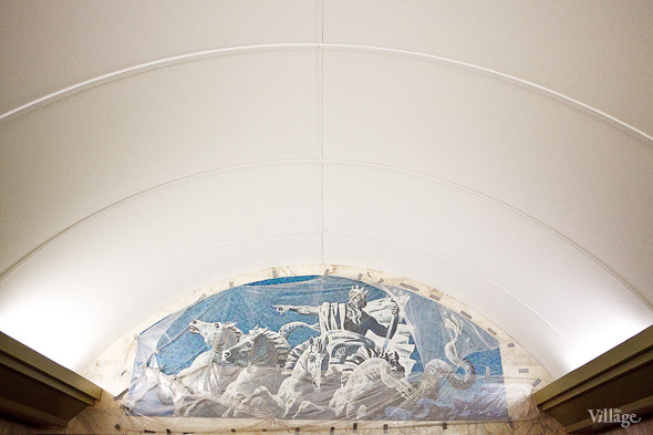 Фоторепортаж: Станция метро «Адмиралтейская» изнутри. Изображение № 7.