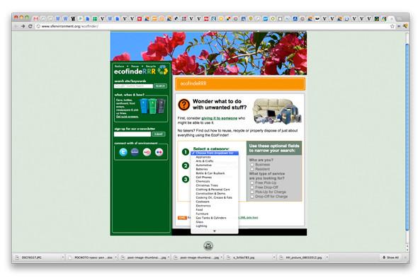 EcoFindeRRR подсказывает, где находятся ближайшие пункты приема более чем 20 видов мусора. Изображение № 15.
