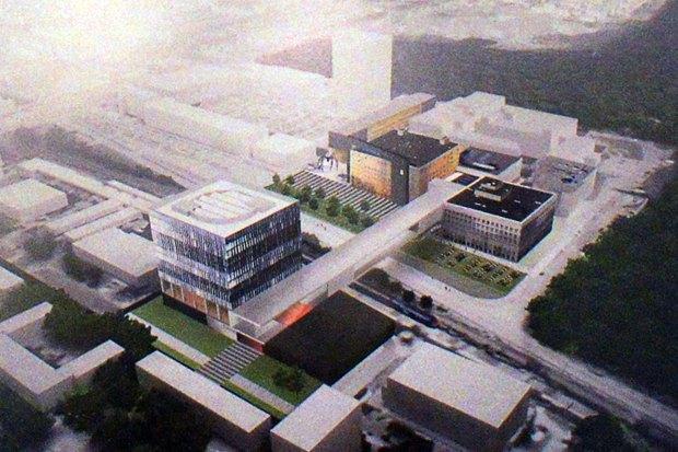 Фондохранилище Эрмитажа построят по проекту Рема Колхаса. Изображение № 3.