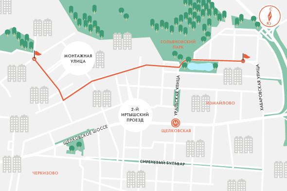 Определены маршруты скоростного трамвая в Москве. Изображение № 2.