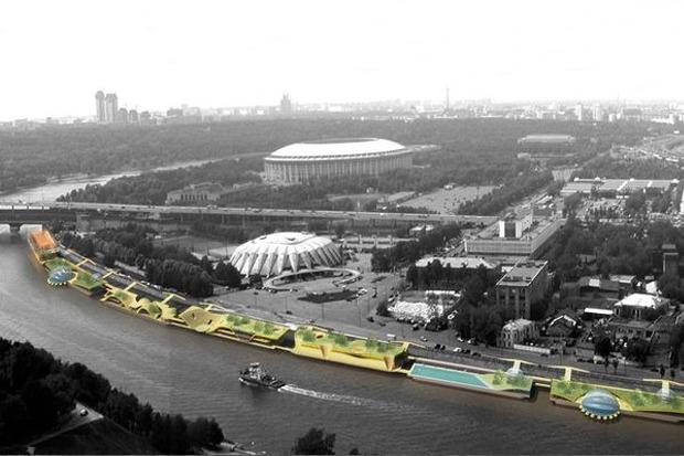 Берега-утопии: Какой могла бы быть Москва-река. Изображение № 7.