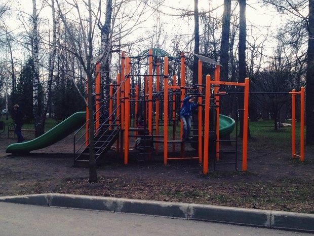 Новая детская площадка. Изображение № 5.