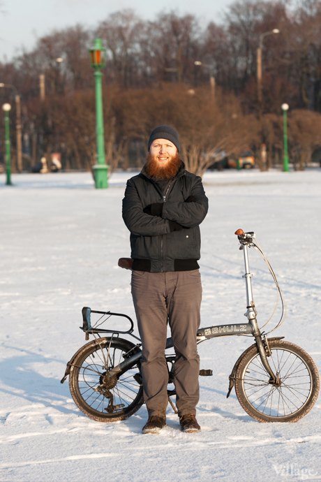 Люди в городе: Кто ездит зимой на велосипеде . Изображение № 8.
