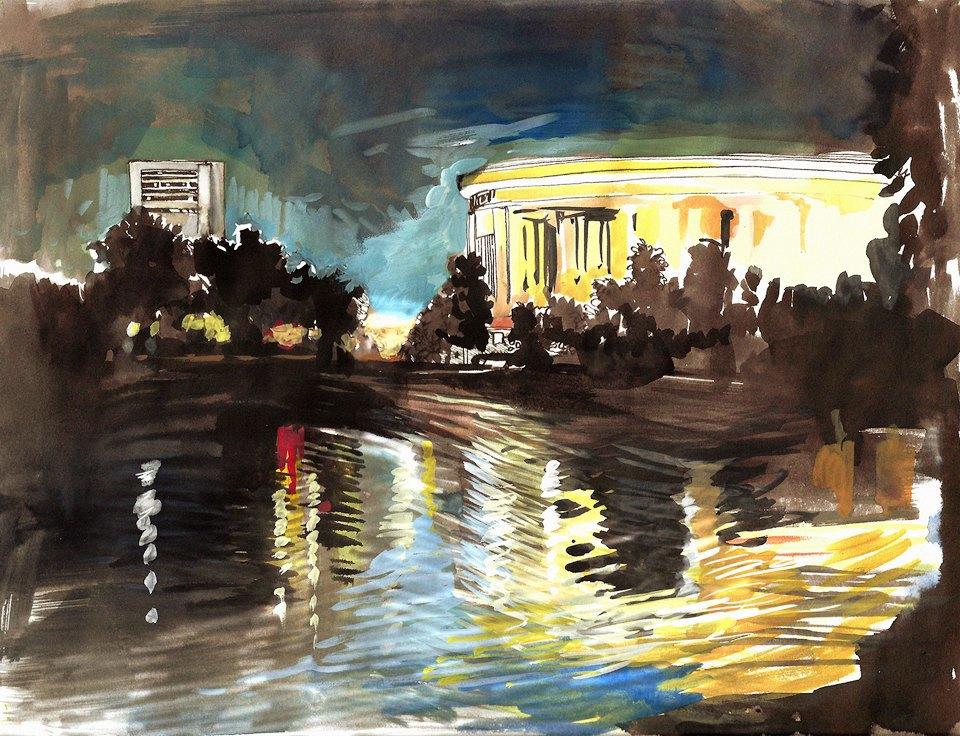 Клуб рисовальщиков: Екатерининский парк. Изображение № 1.