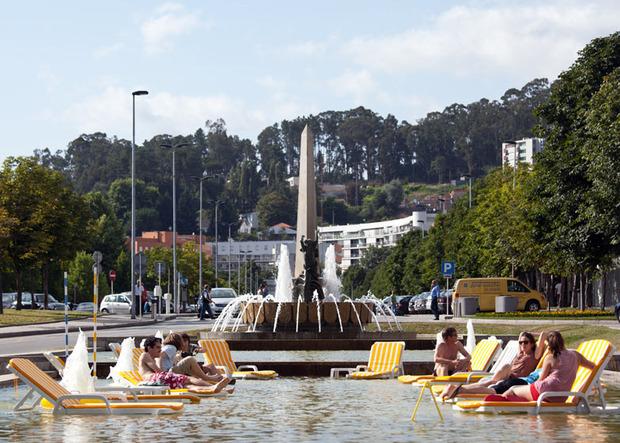 Идеи для города: Общественные бассейны в фонтанах. Изображение № 12.