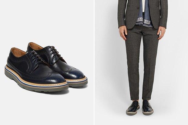 21 пара мужской обуви наосень. Изображение № 1.