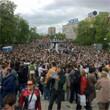 В воскресенье в Петербурге гуляли 500 человек, в понедельник закрывают Исаакиевскую. Изображение № 20.