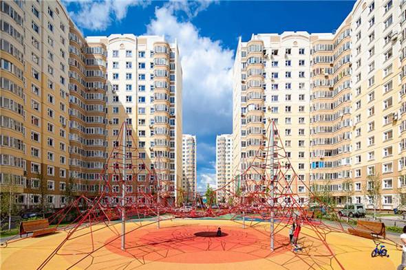 Детская площадка в Марфине. Фотография — Эдас Кирпичев. Изображение № 3.