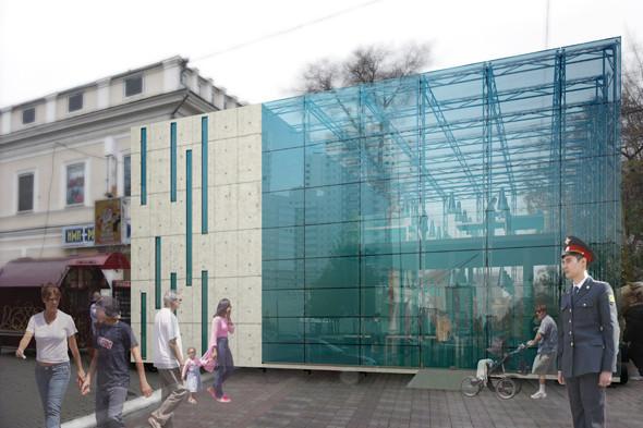 Молодые архитекторы предложили проект прозрачного полицейского участка. Изображение № 6.