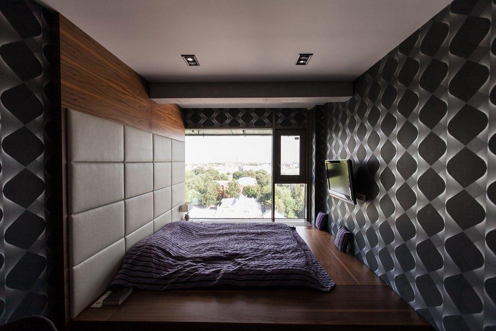 Мужская квартира с панорамным видом на город. Изображение № 29.