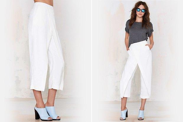 Семь пар светлых женских брюк . Изображение № 7.
