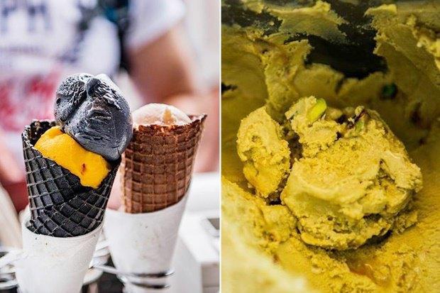 В Центральном детском магазине наЛубянке открылся киоск с мороженым Tim&Tim. Изображение № 1.