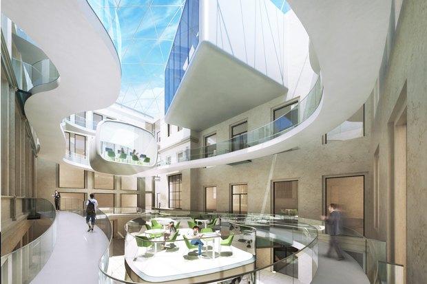 Европейский университет: 4 проекта реконструкции. Изображение № 8.