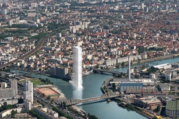 Проект Groupe Descartes предполагает создание 20 новых городов. Изображение № 9.
