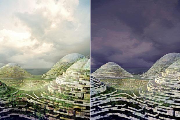 Иностранный опыт: 8 фантастических городских проектов. Изображение № 40.