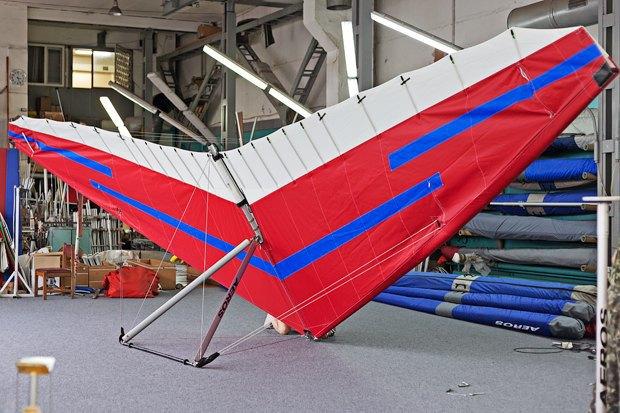 Сделано в Киеве: Дельтапланы «Аэрос». Изображение № 1.