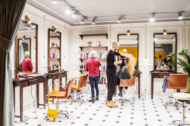 Новое место: Женская парикмахерская Annie Hall. Изображение № 8.