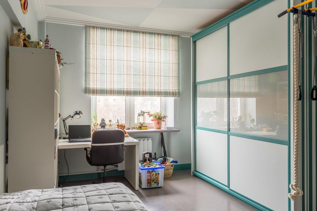 Квартира с яркими акцентами длябольшой семьи. Изображение № 7.