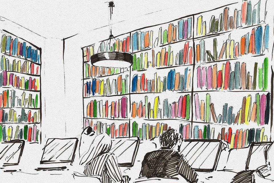Библиотека им. Достоевского . Изображение № 7.