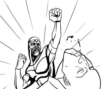 Хранители: Городские супергерои и антигерои. Изображение № 11.