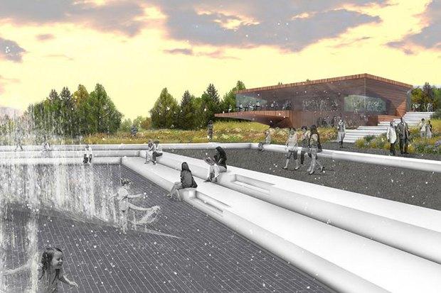 LDA Design представили проекты благоустройства парка «Садовники» и Сиреневого сада. Изображение № 4.
