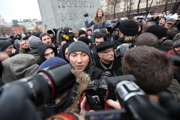 Фоторепортаж: Митинг против фальсификации выборов. Изображение № 11.