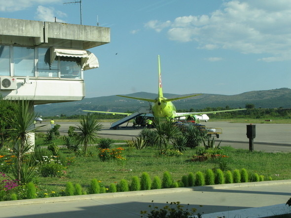 аэропорт Подгорицы