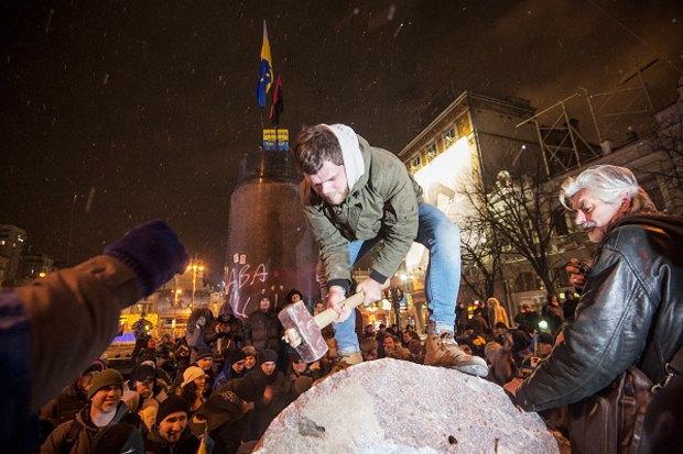 Площадь революции: Евгений Сафонов о том, почему все города должны завидовать Киеву. Изображение № 2.