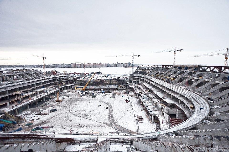 Фоторепортаж: Стадион «Зенит-Арена» изнутри. Изображение № 8.