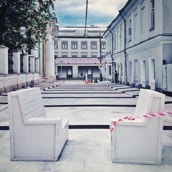 Черниговский переулок сделают пешеходным иперекрасят вбелый цвет. Изображение № 3.