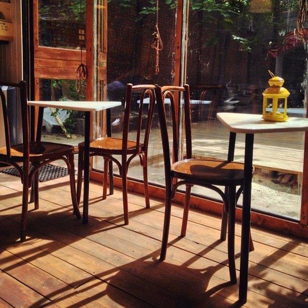В «Третьем кластере» открылось кафе в контейнере . Изображение № 2.