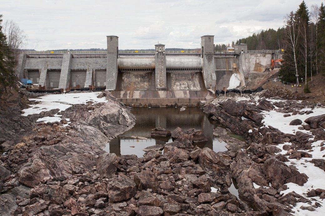 Плотина Иматранкоски на реке Вуокса. Изображение № 37.