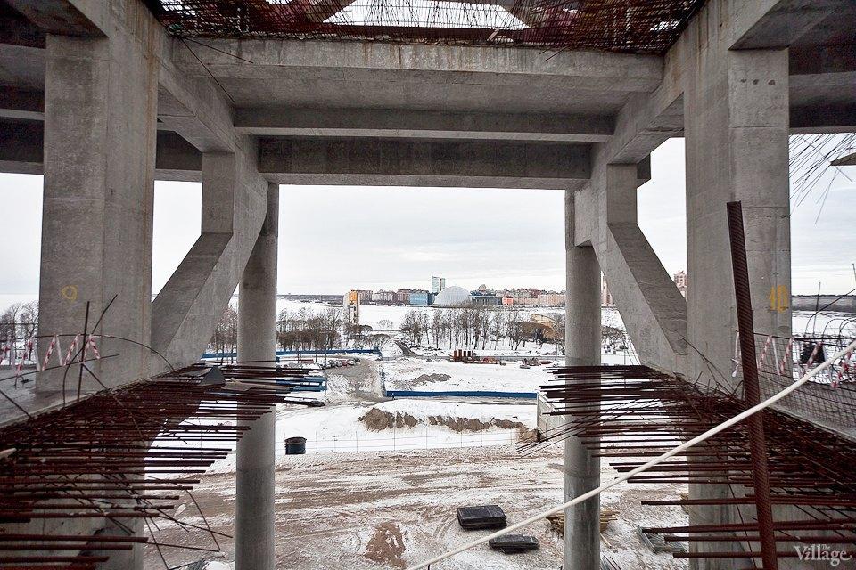 Фоторепортаж: Стадион «Зенит-Арена» изнутри. Изображение № 9.