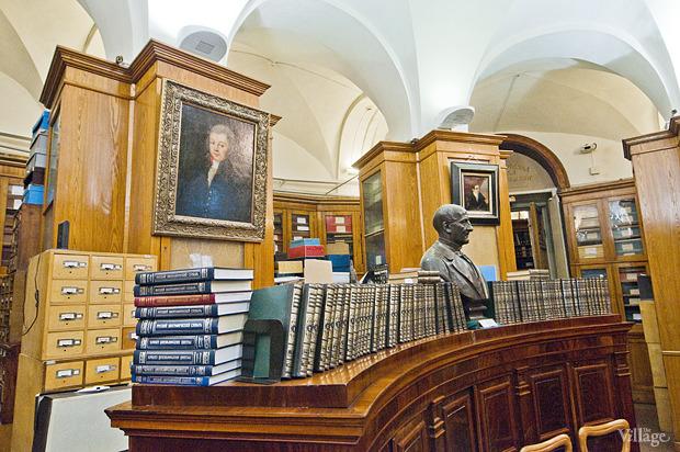 Зал с ценными изданиями и рукописями. Изображение № 15.