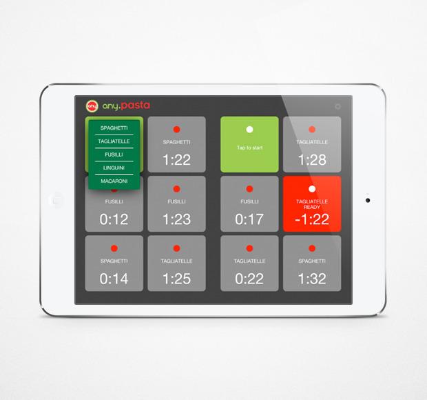 Any Pasta выпустила кулинарное приложение для iPad. Изображение № 1.