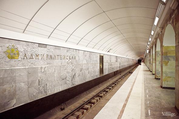 Фоторепортаж: Станция метро «Адмиралтейская» изнутри. Изображение № 16.