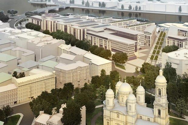 Суд идёт: четыре проекта квартала на месте «Набережной Европы». Изображение № 12.