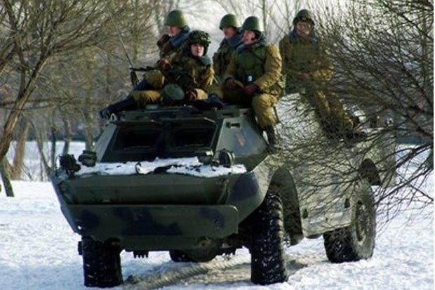 В Петербурге реконструируют битву Афганской войны с БТР и конными караванами. Изображение № 2.