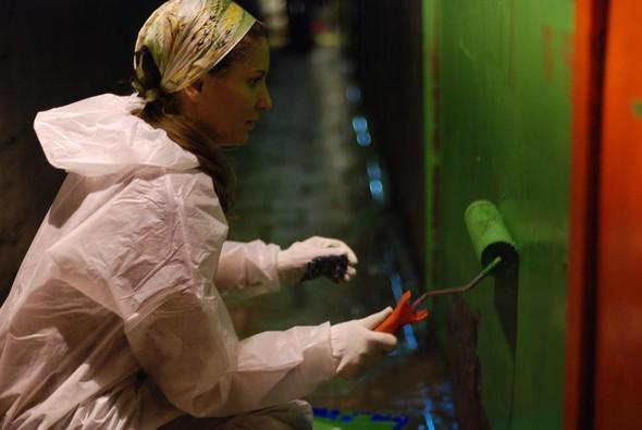 Добровольцы разукрасили туннель около «Винзавода». Изображение № 2.