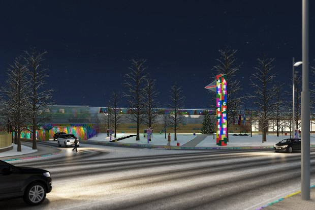 «Винзавод» выбрал концепции развития сквера в Басманном районе. Изображение № 2.