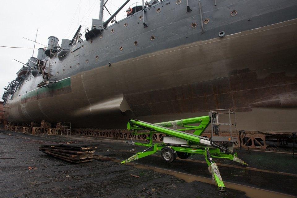 Как ремонтируют крейсер «Аврора». Изображение № 4.