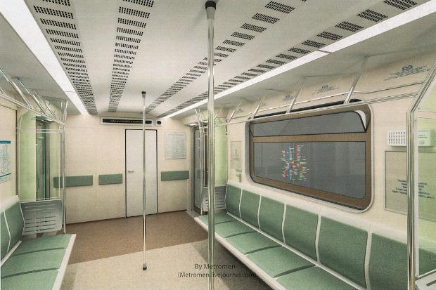Дизайнеры предложили Метрополитену проект новых вагонов. Изображение № 2.