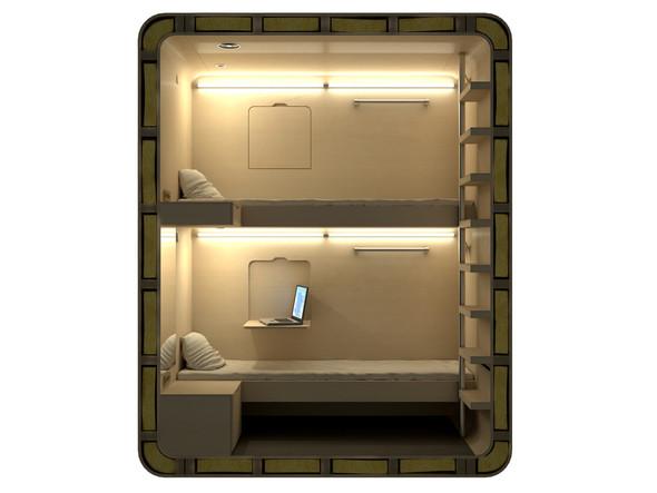 В Шереметьеве установят «коробки для сна». Изображение № 17.